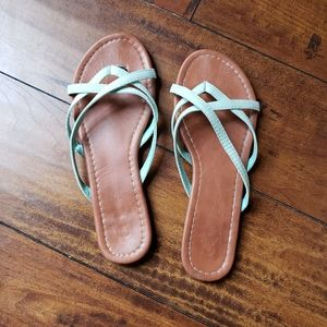 Rue 21 Strappy Mint Sandals